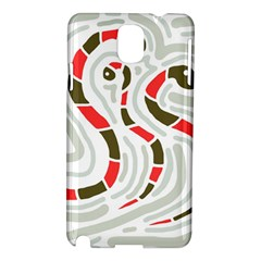 Snakes family Samsung Galaxy Note 3 N9005 Hardshell Case