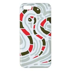 Snakes family iPhone 5S/ SE Premium Hardshell Case