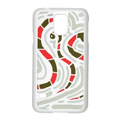 Snakes family Samsung Galaxy S5 Case (White)