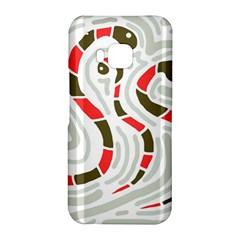 Snakes family HTC One M9 Hardshell Case