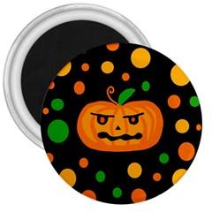 Halloween pumpkin 3  Magnets