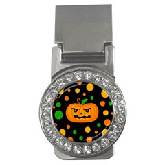 Halloween pumpkin Money Clips (CZ)