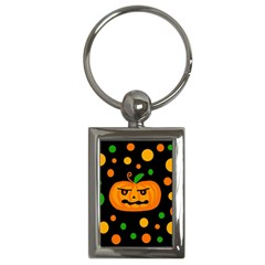 Halloween pumpkin Key Chains (Rectangle)