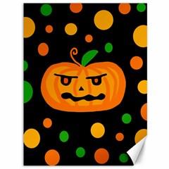 Halloween pumpkin Canvas 36  x 48
