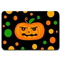 Halloween pumpkin Large Doormat
