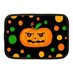 Halloween pumpkin Netbook Case (Medium)