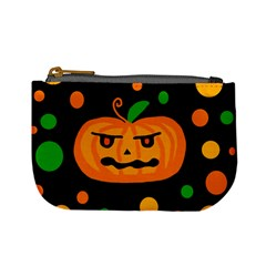 Halloween pumpkin Mini Coin Purses