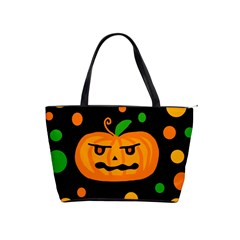 Halloween pumpkin Shoulder Handbags