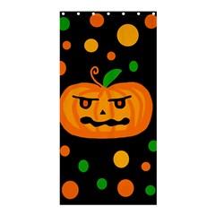 Halloween pumpkin Shower Curtain 36  x 72  (Stall)