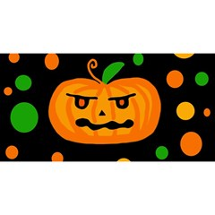 Halloween pumpkin YOU ARE INVITED 3D Greeting Card (8x4)