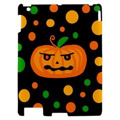 Halloween pumpkin Apple iPad 2 Hardshell Case