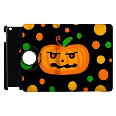 Halloween pumpkin Apple iPad 3/4 Flip 360 Case