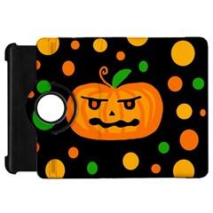 Halloween pumpkin Kindle Fire HD Flip 360 Case