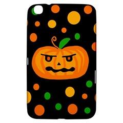 Halloween pumpkin Samsung Galaxy Tab 3 (8 ) T3100 Hardshell Case