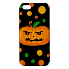 Halloween pumpkin iPhone 5S/ SE Premium Hardshell Case