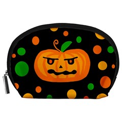 Halloween pumpkin Accessory Pouches (Large)