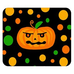 Halloween Pumpkin Double Sided Flano Blanket (small)
