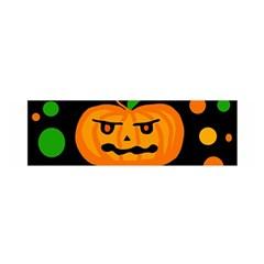 Halloween pumpkin Satin Scarf (Oblong)