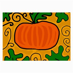 Thanksgiving pumpkin Large Glasses Cloth (2-Side)