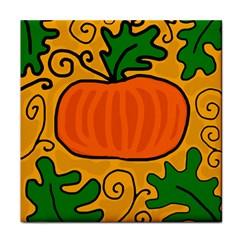 Thanksgiving pumpkin Face Towel