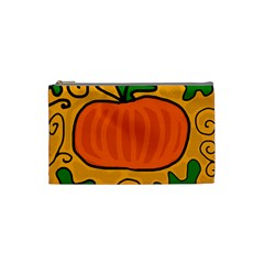 Thanksgiving pumpkin Cosmetic Bag (Small)