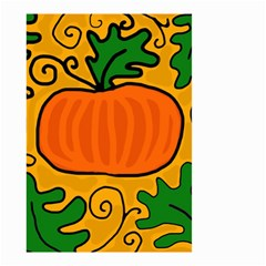 Thanksgiving pumpkin Small Garden Flag (Two Sides)
