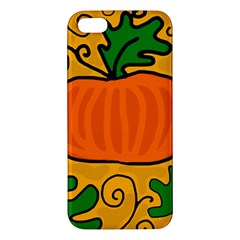 Thanksgiving pumpkin Apple iPhone 5 Premium Hardshell Case