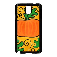Thanksgiving pumpkin Samsung Galaxy Note 3 Neo Hardshell Case (Black)