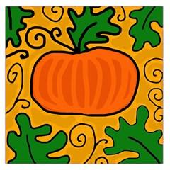 Thanksgiving pumpkin Large Satin Scarf (Square)