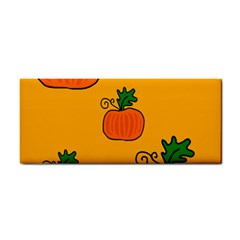 Thanksgiving pumpkins pattern Hand Towel