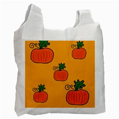 Thanksgiving pumpkins pattern Recycle Bag (Two Side)
