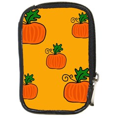 Thanksgiving pumpkins pattern Compact Camera Cases