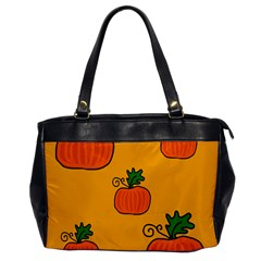 Thanksgiving pumpkins pattern Office Handbags