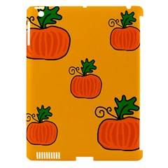 Thanksgiving pumpkins pattern Apple iPad 3/4 Hardshell Case (Compatible with Smart Cover)