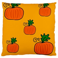 Thanksgiving pumpkins pattern Large Cushion Case (One Side)