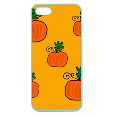 Thanksgiving pumpkins pattern Apple Seamless iPhone 5 Case (Color)