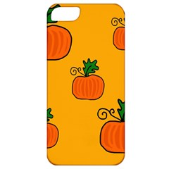 Thanksgiving pumpkins pattern Apple iPhone 5 Classic Hardshell Case