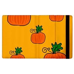 Thanksgiving pumpkins pattern Apple iPad 3/4 Flip Case