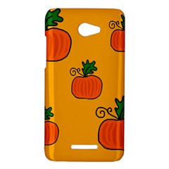 Thanksgiving pumpkins pattern HTC Butterfly X920E Hardshell Case
