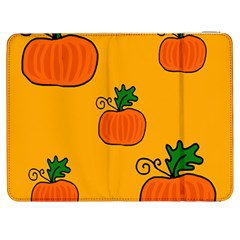 Thanksgiving pumpkins pattern Samsung Galaxy Tab 7  P1000 Flip Case