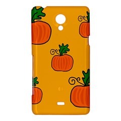 Thanksgiving pumpkins pattern Sony Xperia T