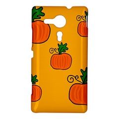Thanksgiving pumpkins pattern Sony Xperia SP