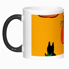 Halloween pumpkins and cats Morph Mugs