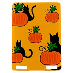 Halloween pumpkins and cats Kindle Touch 3G