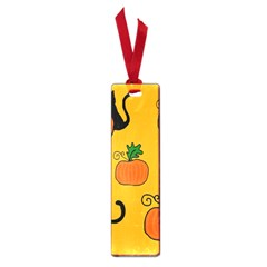 Halloween pumpkins and cats Small Book Marks