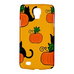 Halloween pumpkins and cats Galaxy S4 Active