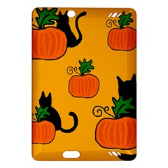 Halloween pumpkins and cats Amazon Kindle Fire HD (2013) Hardshell Case