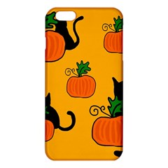 Halloween pumpkins and cats iPhone 6 Plus/6S Plus TPU Case