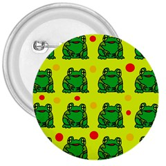 Green frogs 3  Buttons