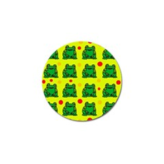 Green frogs Golf Ball Marker (4 pack)
